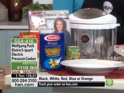 Wolfgang Puck Bistro 5-quart Electric Pressure Cooker - YouTube