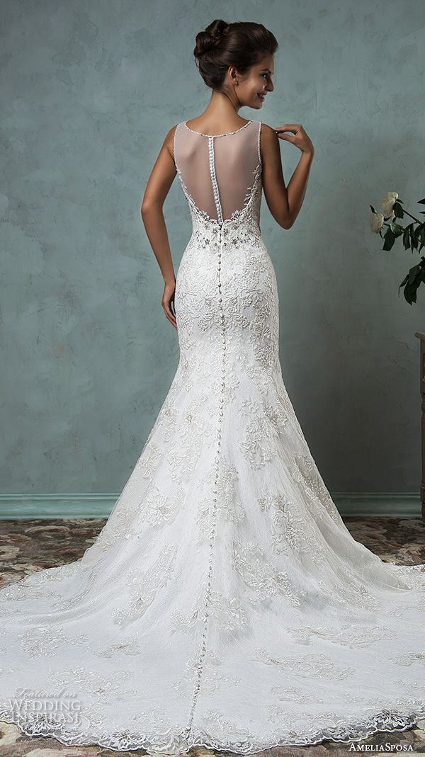 Amelia Sposa 2016 Wedding Dresses — Volume 2 | Wedding Inspirasi | (Back View)