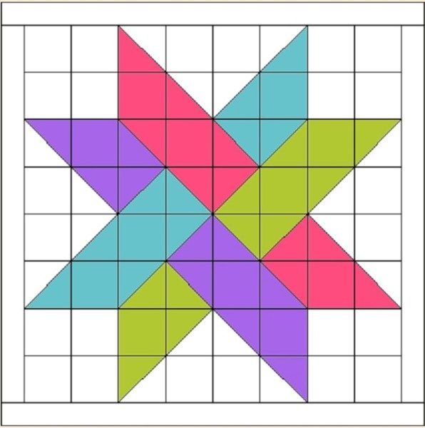 17 Best images about Quilting - Half Square Triangles on Pinterest Triangle quilts, Quilt ...