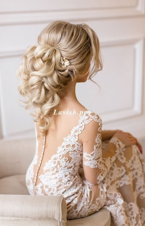 Recommended hairstyle: lavish.pro; www.lavish.pro; Wedding hairstyle idea.