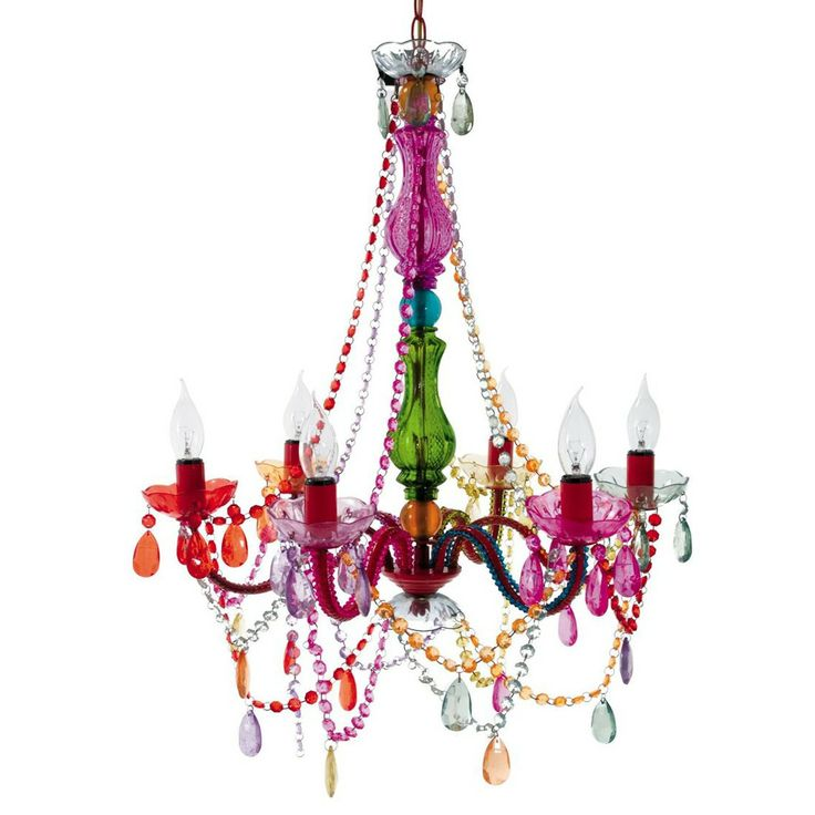 125 best home chandelier lighting images on pinterest silly gypsy chandelier multi colored 13100 aloadofball Choice Image