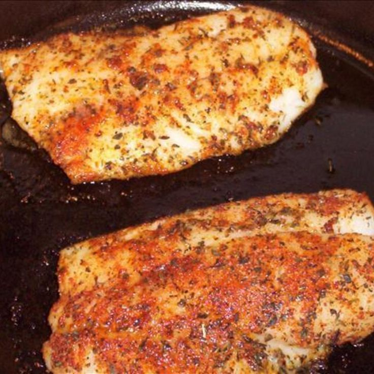 Quick Fried Red Snapper in Olive Oil