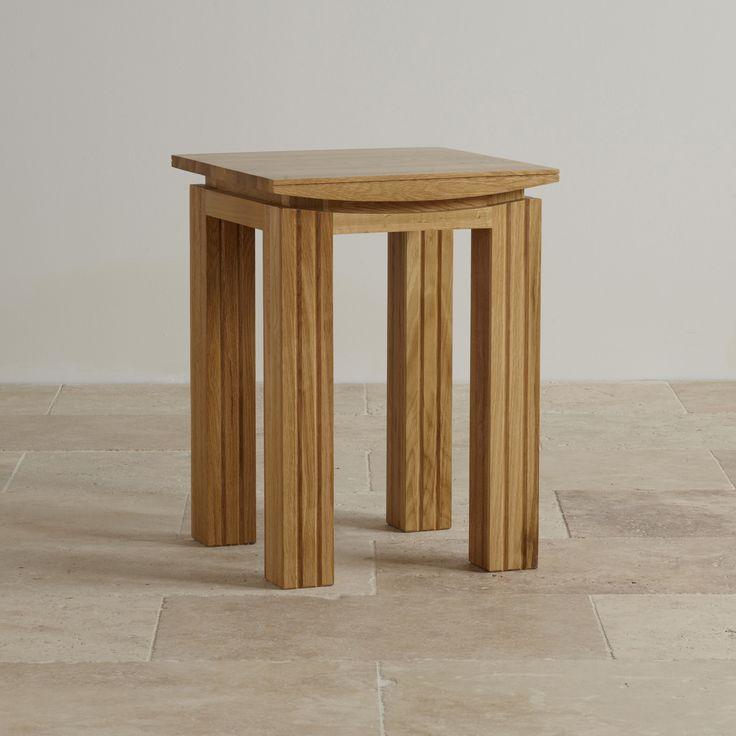 Tokyo Solid Oak Lamp Table from the Tokyo Solid Oak range by Oak Furniture Land
