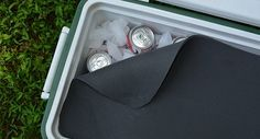 COOLER TRICKS --Easy ways to make ice last longer when camping.