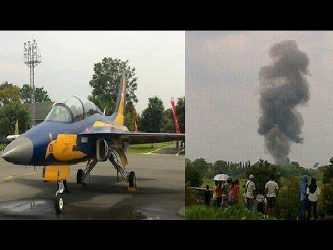 TRAGIS Pesawat TNI AU T-50i Jatuh di Yogyakarta Saat Aerobatic