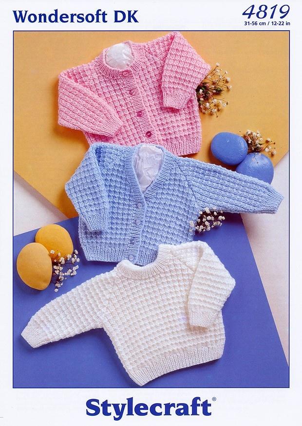 Cardigans & Sweater in Stylecraft Wondersoft DK (4819)