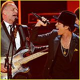 Bruno Mars and Sting.                               Locked Out of Heaven - Wikipedia