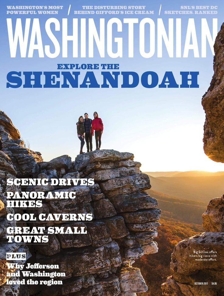 Washington Dc Popout Map%0A October       Shenandoah