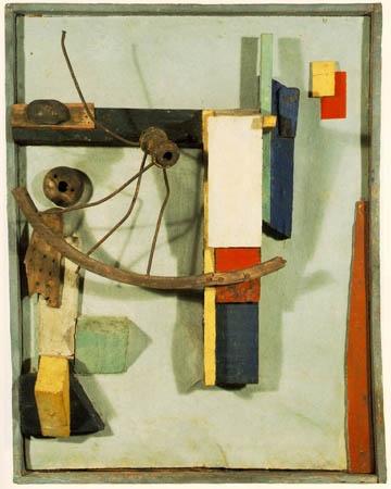 """Kurt Schwitters 1926: """"Small Seaman's Home"""""""