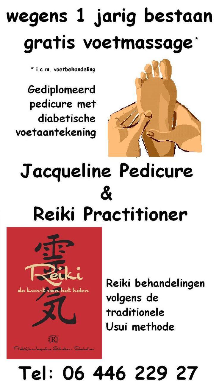 Jacqueline Pedicure en Reiki Practitioner