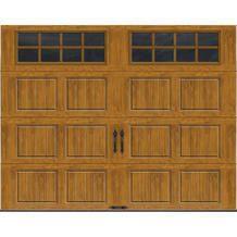 Ideal Door® 9' x 7' Long Square Decorative Windows Residential Garage Door from Menards $836.00