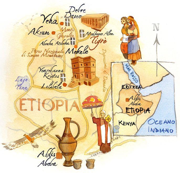 Cristiano Lissoni- Map of Ethiopia