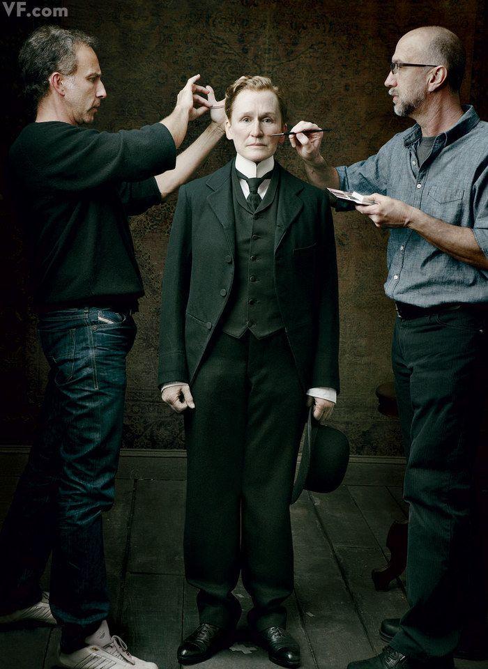GLENN CLOSE. Photographed by Annie Leibovitz.