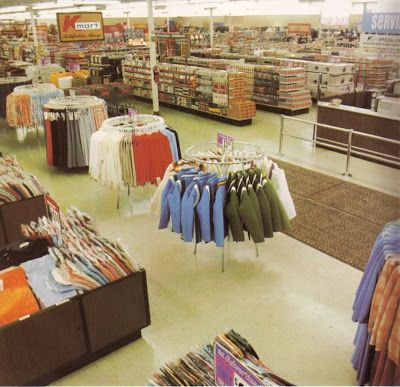 Kmart stores of the 70's- early 80's! We loved Kmart back then
