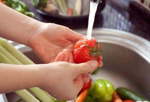 come lavare frutta e verdura