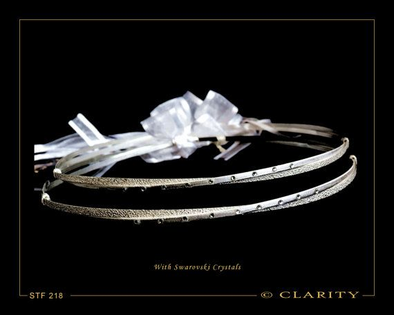 Swarovski Greek Stefana Including Stefanothiki Silver by ClarityGR