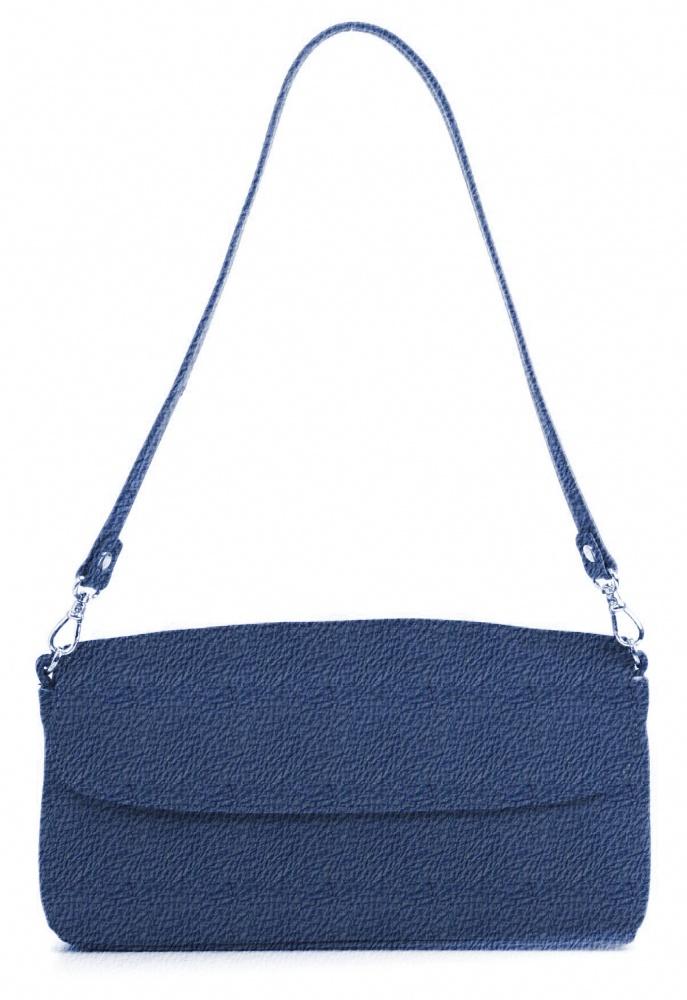 And 8,  leren damestas met hengsel, de tas sluit met een magneetsluiting. Mogelijk in 30 verschillende kleuren leer.