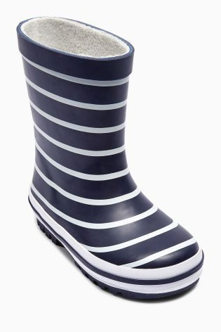 Buy Navy Striped Wellies (Younger Boys) online today at Next: United States of America