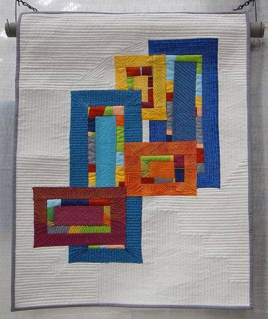 BarbForrister by Luana Rubin, via Flickr.  Quiltcon 2013.  LOVE this one.