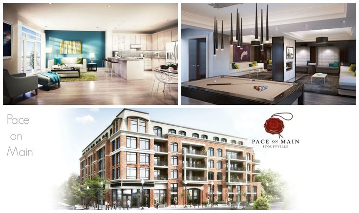 Pace on Main condominiums in Stouffville is filled with the perfect complement to an enchanting neighbourhood of timeless heritage architecture. #Condo #Condos http://bit.ly/paceon12