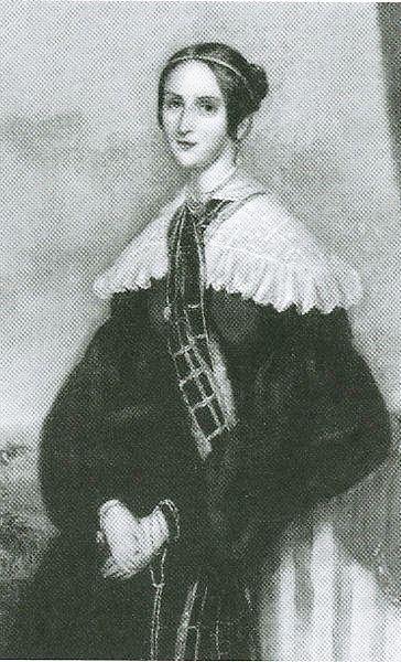Пушкина Наталья Николаевна . 1839 г.