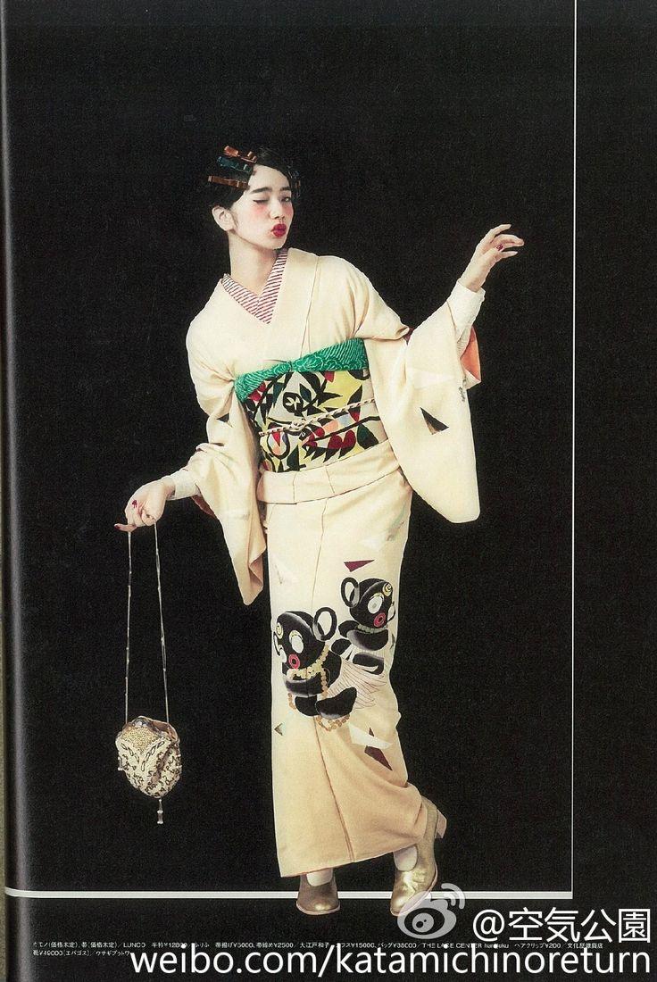Komatsu Nana 小松菜奈 for Kimono hime キモノ姫 magazine... - Nippon-Graph