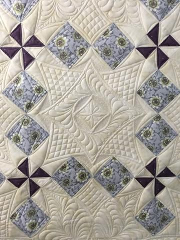 Ultimate Longarm Techniques Class Series 2  - Feathered Elegance
