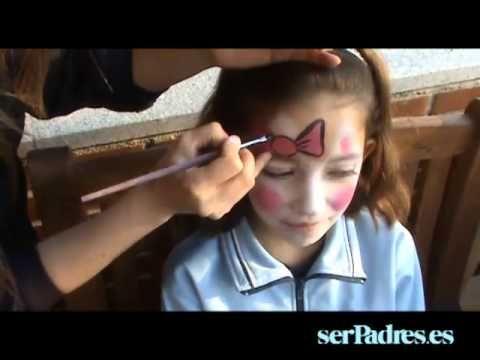 Cómo hacer un maquillaje de Hello Kitty para niñas
