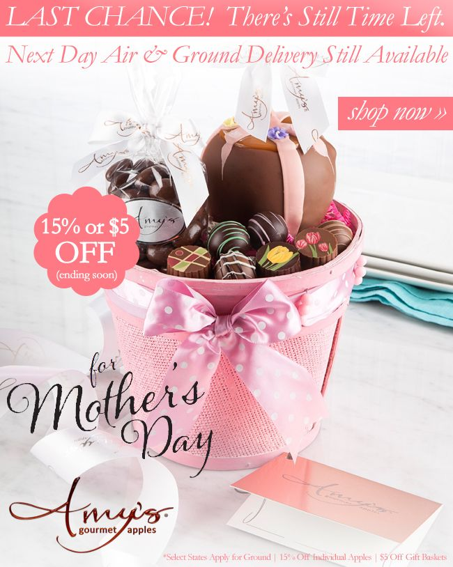 28 best mothers day gifts impress mom with chocolate images on your mom deserves the best which is why our mothers day caramel apples are handmade with premium ingredients spoil your mom with amys gourmet apples negle Gallery