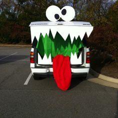 43 best thrifty trunk or treat decorating ideas images on pinterest halloween ideas halloween stuff and halloween crafts - Halloween Trunk Or Treat Decorating Ideas