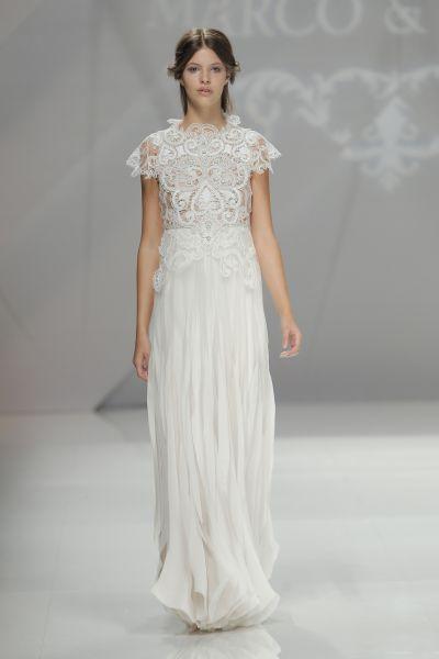 Vestidos de novia para mujeres bajitas 2017: 40 diseños perfectos para tu gran día Image: 36