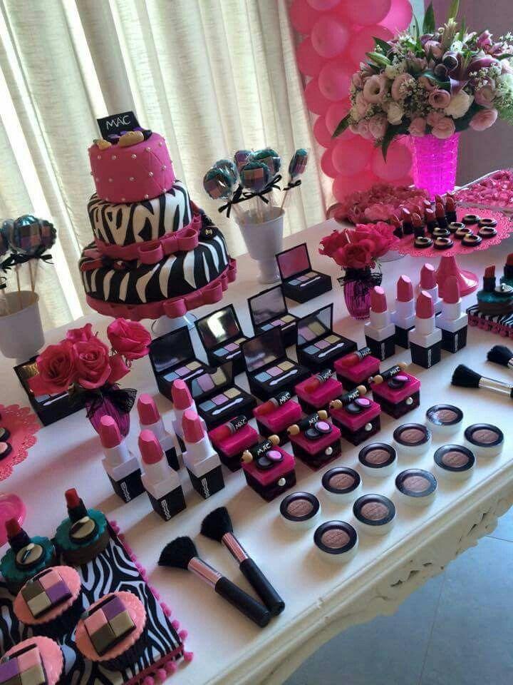 25+ Best Makeup Birthday Parties Ideas On Pinterest | Kids Spa Party Girl Sleepover Party Ideas ...
