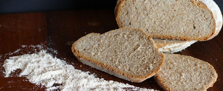 Pane di farro fatto in casa