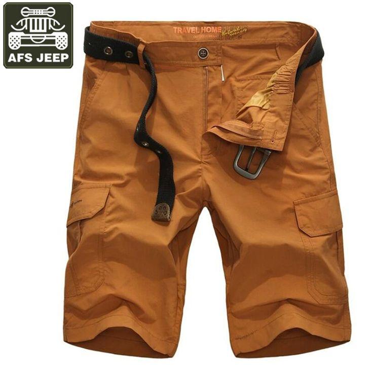 >> Click to Buy << AFS JEEP Brand Cargo Shorts Men Summer Bermuda Shorts Multi-pockets Shorts Male Overalls Army Short Masculino Moletom Masculino #Affiliate