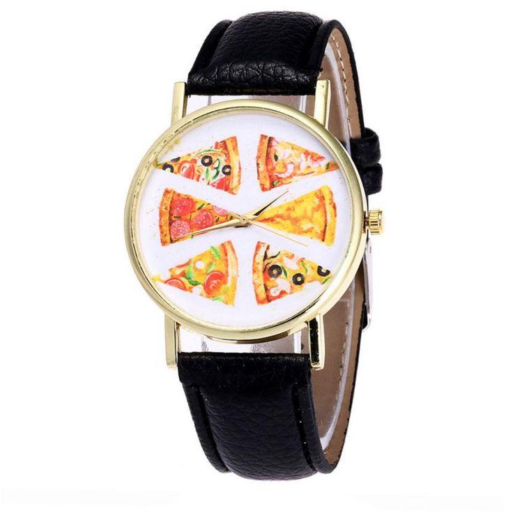 Encontrar Más Relojes de mujer Información acerca de Pizza de marca famosa mujer relojes Correa de Reloj de Pulsera de moda Masculina Y Femenina de Color Caramelo vestido de las señoras relojes de diseño 2017, alta calidad candy color, China watch a Proveedores, barato watch brand de Susenstone en Aliexpress.com
