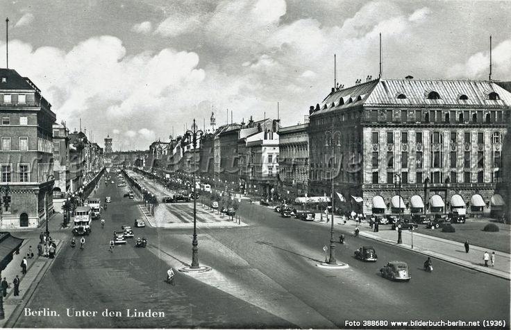 BerlinUnterdenLindenca1936, Unter den Linden, 10117 Berlin - Mitte (1936)