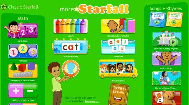 Starfall math