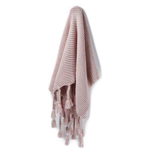 Ashton Pink Throw