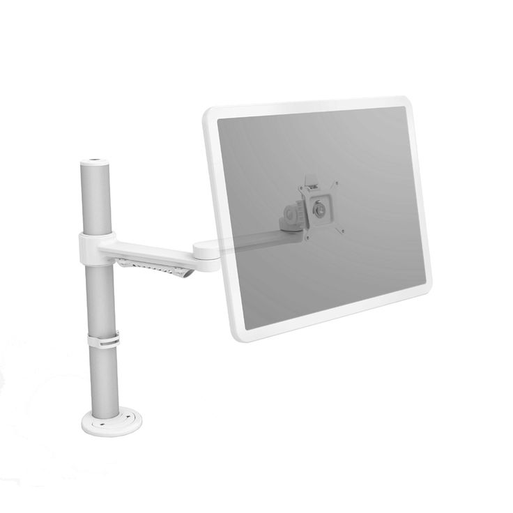 C ME monitor arm. The C ME monitor arm is an economical and stylish mounting solution giving a large range of movement. The standard arm can carry a weight of up to 8kgs, and is made to the highest quality standards.
