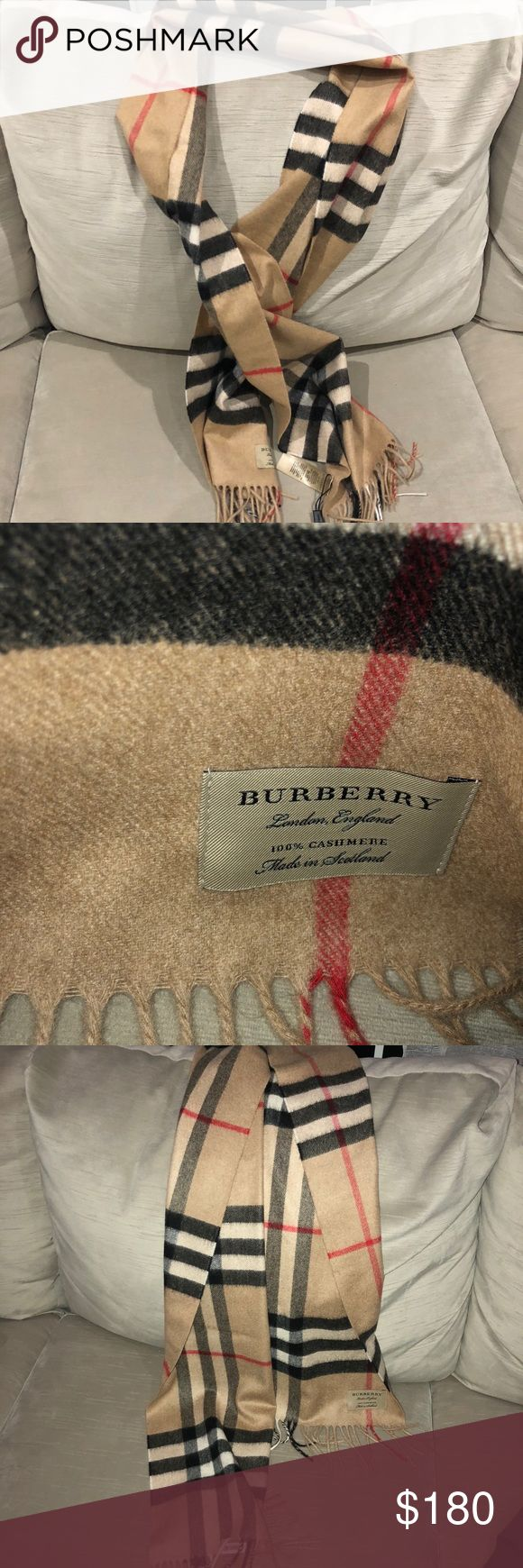 Burberry NWT cashmere camel scarf 💯 Authentic Burberry NWT cashmere rose pink scarf 💯 Authentic , New With Tags Burberry Accessories Scarves & Wraps