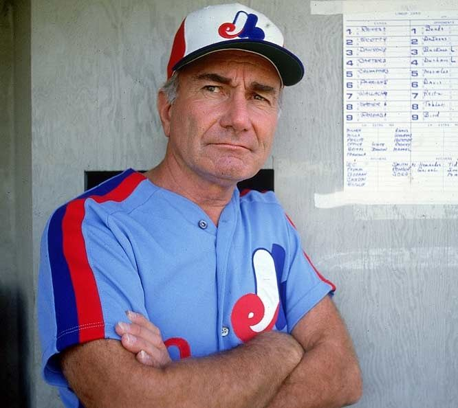 Jim Fanning - Montreal Expos manager