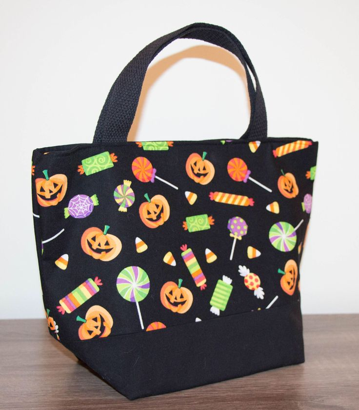 Halloween trick or treat bag.
