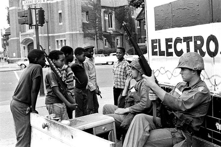 Detroit Riots, July 1967 Jim Hubbard Photography