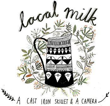 Local Milk - adorei este blog, principalmente o header/logo daquele lado. Gosto desta organização, embora esta font se leia mal.