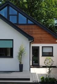 Image result for contemporary chalet bungalow conversion.