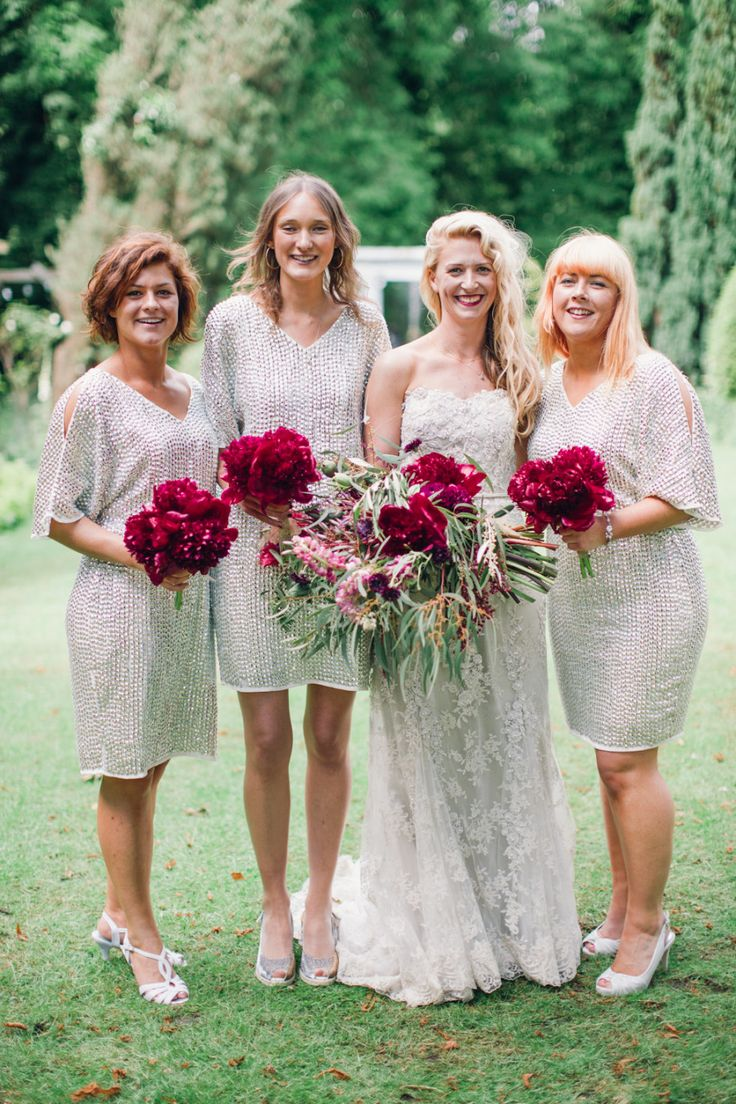 Beautiful Bridesmaids Dresses For Autumn:
