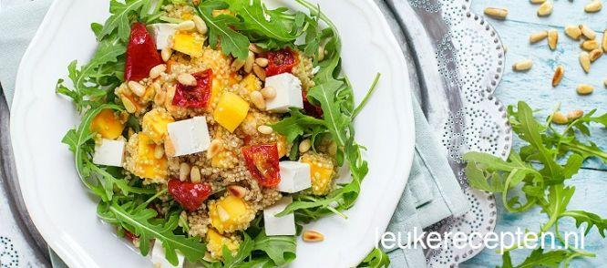 Quinoa Salade Met Mango recept   Smulweb.nl