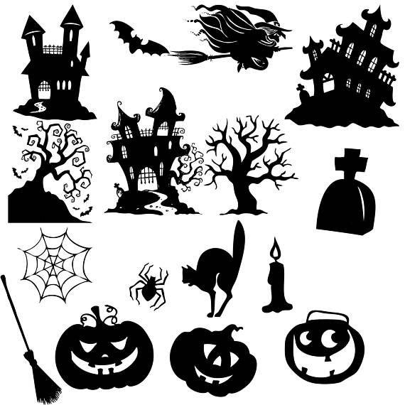 Halloween Scary Clipart.Halloween Clipart Halloween Clip Art Halloween Silhouette Web Clipart Spooky Tree Clipart Pumpkin Clipart Buy 2 Get 1 Free Halloween Clipart Halloween Clips Halloween Silhouettes