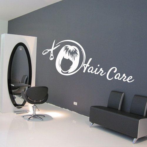Wall decal decor decals art hair salon beauty by DecorWallDecals, $28.99