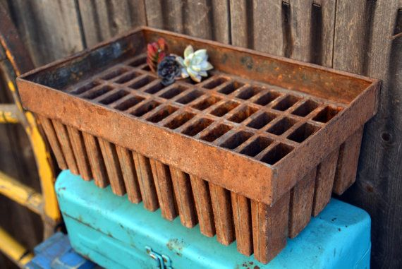 Antique Tin Popsicle Freezer Mold by MerlesVintage